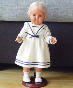 Schildkröt Puppe Bärbel 34 mit Kleidung und Ständer   eBay
