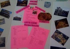 Adjusting a Recipe Math Project