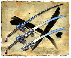 Bloodstained: Ritual of the Night    Katana Design