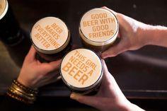 Beer Ripples. Μπύρα με μήνυμα