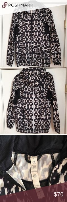 Lululemon Willpower Ikat Pullover Gorgeous print and super comfortable! Adorable styling! EUC lululemon athletica Tops