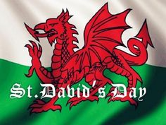 St David's Day Dragon Pictures, Images, Flag Background Photos