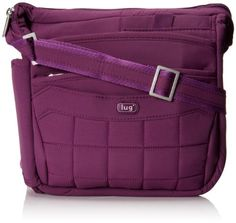 Women's Cross-Body Handbags - Lug  Flutter Mini CrossBody Bag in Plum Purple -- Check out this great product.