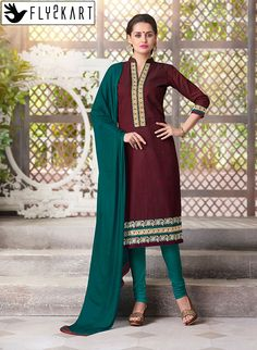 Maroon Stitch Churidar Salwar Kameez http://www.fly2kart.com/maroon-color-full-stitch-readymade-churidar-salwar-kameez-44625.html?utm_content=bufferc8761&utm_medium=social&utm_source=pinterest.com&utm_campaign=buffer BIG OFFER SALE UP TO 50% OFF!!! +91-8000800110 CALL OR WHATSAPP
