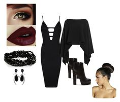 """""""Untitled #2"""" by esefa-husarkic ❤ liked on Polyvore featuring Posh Girl, Donna Karan, Forever 21 and Boohoo"""