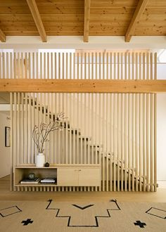 design of staircase wall / design of staircase & design of staircase wall & design of staircase armrest & staircase design & staircase wall design & steel staircase design & staircase wall design modern & outdoor staircase design Home Stairs Design, Interior Staircase, Railing Design, Home Interior Design, Interior Architecture, Modern Staircase, Decorating Staircase, Staircase Ideas, Wood Slat Wall