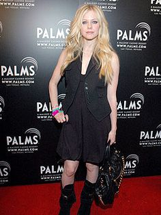 Avril Lavigne attends the First Annual Fantasy Suite Block Party at the Palms Casino Resort on May 6, 2006 in Las Vegas, Nevada.