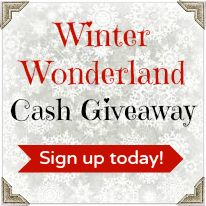#BloggerOpp - Winter Wonderland Cash Giveaway Team Blogger Event. Still time to sign up! @GiveawayPromote delivers results. Join in the fun.