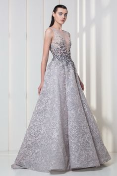2519f505e802 Tony Ward RTW FW I Style 35 I A-line dress in embroidered tulle