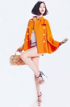 "kiko mizuhara, Vogue Girl Magazine No.3, April 2012    ""Kozue's Style"", As her character Kozue Yoshikawa in Helter Skelter"