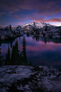 Valley Of The Blue Moon, North Cascades National Park, Washington State