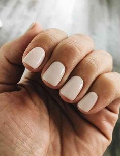 Here's my full guide to neutral nails including neutral nail colors! - Here's my full guide to neutral nails including neutral nail colors! Neutral nails work for a - Ivory Nails, Nude Nails, Acrylic Nails, Coffin Nails, Glitter Nails, Marble Nails, Ongles Beiges, Hair And Nails, My Nails