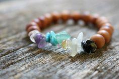 Chakra bracelet, 7 chakra bracelet, healing crystals 🌈