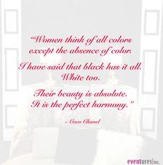Coco Chanel quote | #quotes #Eventures