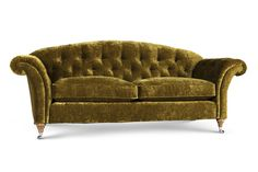 The Edwardian Sofa | The romantic lines of the Florence, complete with button detailing, creates an inviting and elegant style. Classically stylish, it exudes Parisian chic.
