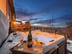 Soak in the hot tub after a day of skiing - Deer Valley vacation rental