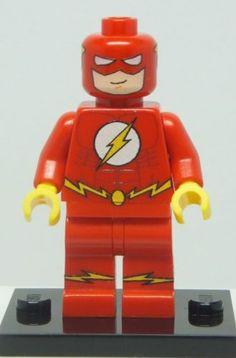 "Custom Printed LEGO ""The Flash"" (MARVEL, DC, SUPERHEROES)"