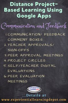 One of the roles of a project-based educator is to facilitate the learning experience. That requires communication and feedback. How do you give students feedback when implementing digital or virtual project-based learning experiences using a Google Apps? Check out this post for a variety of helpful tips and tricks!