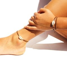Your place to buy and sell all things handmade Foot Bracelet, Shell Bracelet, Leather And Lace, Brown Leather, Hippie Boho, Toe Band, Beach Bracelets, Surfer, Minimalist Earrings