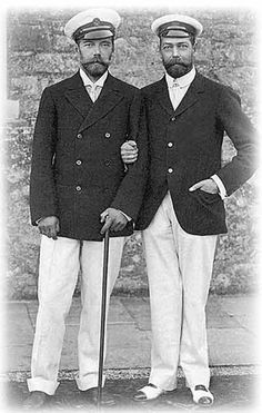 Nicholas II & George V.