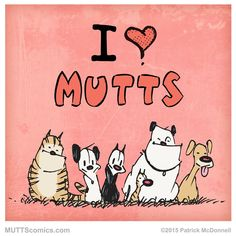 Share with everyone who loves MUTTS! #MUTTScomics