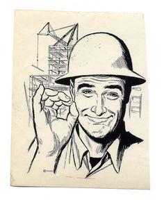 The Bart&Co. Summer Prints, Typography Prints, Art School, Hard Hats, Pop Art, Graphic Design, Working Man, Illustration, Collection