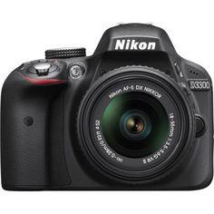 Nikon D3300 DSLR Camera +18-55mm VR II Lens (refurbished) $399 + Free Shipping