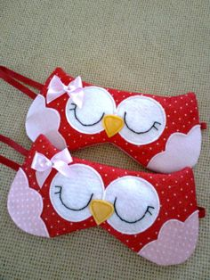 Sewing Hacks, Sewing Crafts, Sewing Projects, Owl Mask, American Heritage Girls, Felt Pillow, Sewing To Sell, Felt Fabric, Cotton Fabric