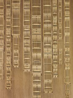 Bamboo City by Kum Chi Keung: EAST, Swire Hotels Hong Kong by swirehotels, via Flickr
