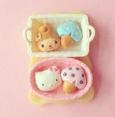 My Melody x Hello Kitty