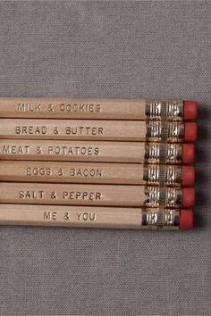 pencil slogans idea?