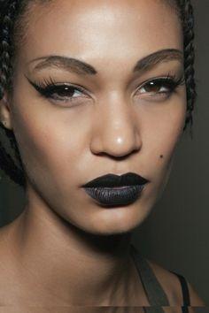 #fashionshow #backstage #makeup #JoanSmalls