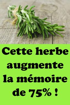 Cette herbe augmente la mémoire de 75% ! Natural Teething Remedies, Natural Remedies, Herbal Remedies, Health Remedies, Uterine Prolapse, Health Vitamins, Sports Nutrition, Herbal Medicine, Natural Healing