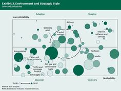 Environment and Strategic Style(Why Strategy Needs a Strategy by BCG)