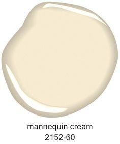 #BenjaminMoore Mannequin Cream 2152-60