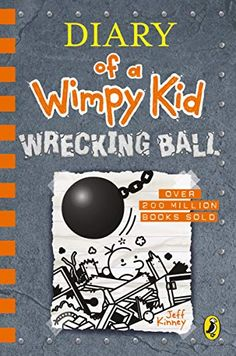 Penguin presents the audiobook edition of Diary of a Wimpy Kid: Wrecking Ball by Jeff Kinney. Book 14 of the Diary of a Wimpy Kid series - from number one international best-selling author Jeff Kinney. Jeff Kinney, Got Books, Books To Read, Wimpy Kid Series, Wimpy Kid Books, Kindle, Kaito Kid, Playing Card Games, Christmas Gift Guide