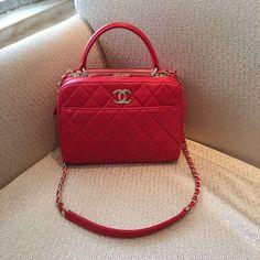 0f0bf1a5b8ee Chanel bowling lambskin handbag red size 27X18X10CM 0750CH7 whatsapp  +8615503787453