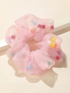 Diy Hair Scrunchies, Barrettes, Hair Bows, Sewing Crafts, Sewing Projects, Diy Projects, Summer Deco, Wide Headband, Diy Hair Accessories