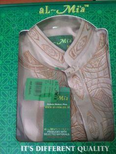 ECER : 160.000 Baju koko lengan panjang merek Al Mia Original Bahan madina Fit to S