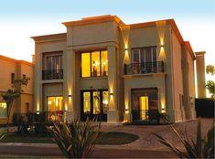 casa estilo clasico, en barrio privado de Nordelta, Buenos Aires, Argentina Modern Mansion, House Elevation, House Goals, Beautiful Homes, Sweet Home, Exterior, House Design, Mansions, Architecture