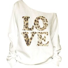 Vintage Love Print Off Shoulder Slouchy Oversized Raw Edge... (43 CAD) ❤ liked on Polyvore featuring tops, hoodies, sweatshirts, white, women's clothing, vintage sweatshirt, white top, print sweatshirt, white sweat shirt and vintage sweat shirts
