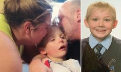 Parents release tragic picture of their son, 7, who died of meningitis
