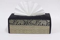 Handicraft Reed &Thai Silk Tissue Box Cover Home & Kitchen Decor Utensils in Home & Garden, Bath, Tissue Box Covers | eBay!