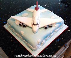 How to make a 747 cake