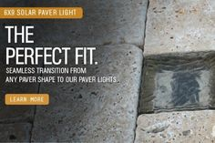 """6""""x9"""" Solar LED Paver Light by Paver Light Depot. $31.88. Our solar-powered LED Paver Lights is one of the most innovative new lighting products in the architectural industry. Our Paver Lights have been recognized as """"Green"""" and """"eco-friendly"""", making them environmentally safe in all applications.   Our Solar LED Paver Lights come in four different sizes (4x4, 4x8, 6x6, 6x9), constructed with industrial grade glass that can withstand most all vehicle traffic. E..."""