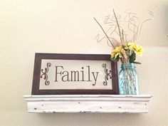 Expresso Family Frame with Brown Vinyl on by BlueMasonBoutique, $21.00