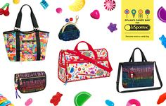 We're thrilled to be in collaboration with LeSportsac, for our new line of functional and chic handbags! LeSportsac is renowned for its sporty American styling, vibrant prints, and lightweight functionality with high performance, rip-stop nylon fabric. Preorder yours today! http://www.dylanscandybar.com/accessories_le-sportsac/