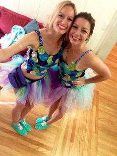 DIY Rainbow Fish Costume | Claudette's Corner