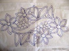 Zsinórcsipke mintája Romanian Point Lace pattern from Hungary Bobbin Lace Patterns, Macrame Patterns, Doily Patterns, Dress Patterns, Cutwork Embroidery, Embroidery Stitches, Embroidery Patterns, Paper Embroidery, Filet Crochet