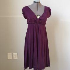Royal purple dress from Max Studio Breezy dress from Max Studio is a comfy flattering dress. Worn once in Santorini Greece Max Studio Dresses